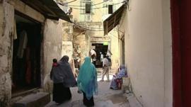 People in Zanzibar