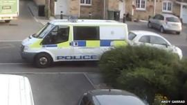Police van shunt