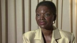 UN's humanitarian chief, Valerie Amos