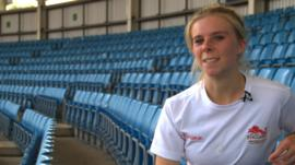 Fiona Clarke will be representing England at the games