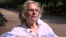 Marcelle Bernstein talking about pioneering TARGIT breast cancer treatment