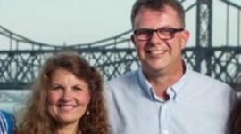 Canadian couple Kevin and Julia Garratt