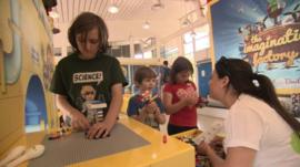 Children at Lego therapy