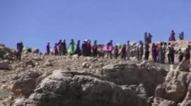 Fleeing Iraqis