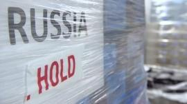 Goods ready for export to Russia
