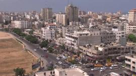 Gaza City, Monday