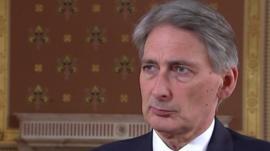 Phillip Hammond, Foreign Secretary, UK