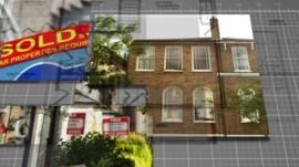 Demand for properties in London has gone down, while the number of properties available has gone up