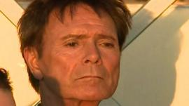 Cliff Richard at Portugal on the weekend
