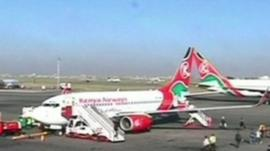 Kenya Airways plane