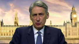 Foreign Secretary Phillip Hammond