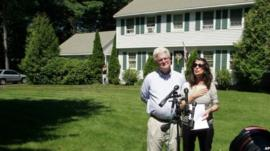 John and Diane Foley, James Foley's parents, speak to reporters in Rochester. Photo: 20 August 2014