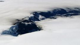 Snowy terrain