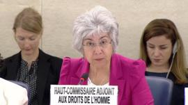 Deputy Human Rights Commissioner Flavia Pansieri