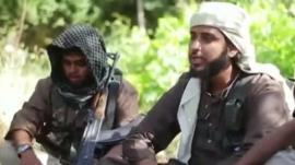 Jihadist fighters