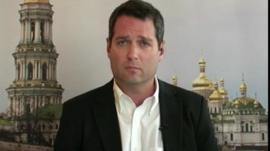 BBC's David Stern reports from Kiev