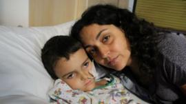 Ashya King and Mother