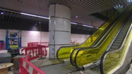 Crossrail escalator