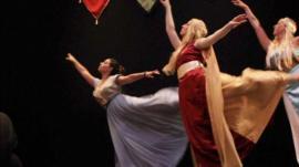 Brutal Ballet in performance