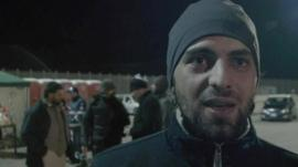 Syrian migrant Mohammed in Italy