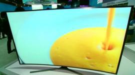 Samsung's new TV