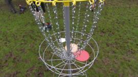 Disc Golf apparatus