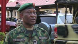 Defence spokesman Chris Olukolade