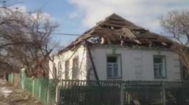 Deserted Debaltseve, Ukraine