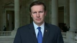 Senator Christopher Murphy is supportive of the US military mission in Afghanistan