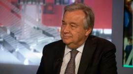 Guterres: 'Robust rescue at sea operation' needed in Mediterranean