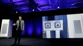 Tesla unveils the home battery