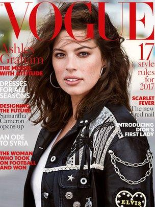Vogue January front cover