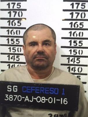 Chapo Guzmán detenido