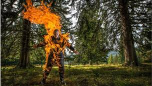 Человек в огне