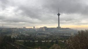 احسان: تهران پاییزی زیبا، بعد از کلی عمر. جای همه دوستان خالی