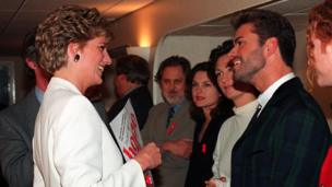 Princess Diana ve George Michael
