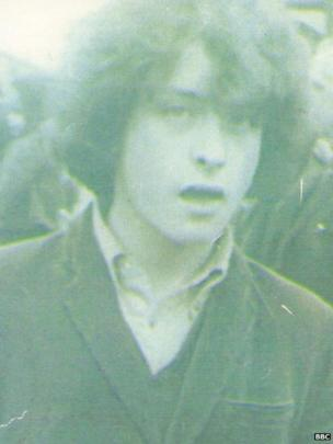 Image caption Kevin McKee was abducted and murdered by the IRA in 1972 - _83869649_kevinmckee