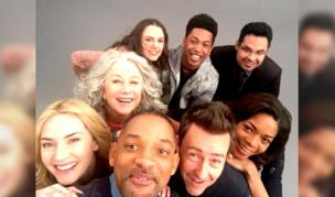 The cast of Collateral Beauty