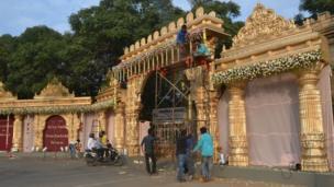 Düğünün yapıldığı yer