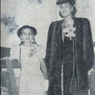 Trump y su madre