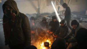 Belgrado, en una foto tomada el 7 de enero.