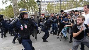 Paris'teki çatışmalar