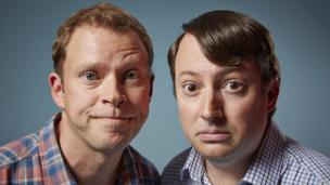'Robert Webb and David Mitchell' from the web at 'http://ichef-1.bbci.co.uk/news/304/cpsprodpb/6C7A/production/_86607772_peepshowseries90082150831peepshow89086.jpg'