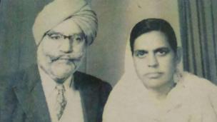 Bhagwan Singh Maini n' Pritam Kaur