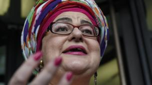 'camila Batmanghelidjh' from the web at 'http://ichef-1.bbci.co.uk/news/304/cpsprodpb/8107/production/_86413033_h_52307107.jpg'
