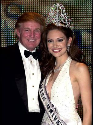 Donald Trump e Denise Quinones