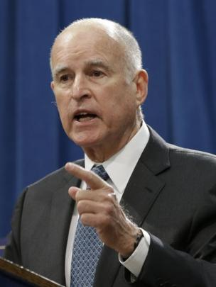 Jerry Brown, gobernador de California