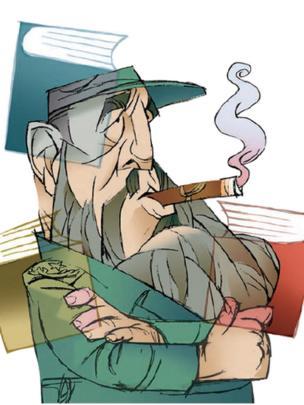 کارتون افشین سبوکی در روزنامه شهروند با موضوع فیدل کاسترو، رهبر انقلاب کوبا که روز شنبه درگذشت