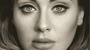 'Adele - 25 sleeve' from the web at 'http://ichef-1.bbci.co.uk/news/304/cpsprodpb/D5D8/production/_86744745_a73e3fa1-7f09-47b6-ae23-ba6a123ad1ab.jpg'