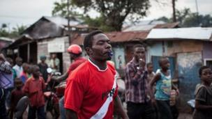 Des jeunes membres du mouvement Lucha (Lutte pour le changements) et de Filimbi, engagés pour le départ de Kabila, ont souvent été arrêtés en 2015